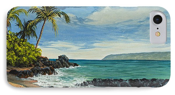 IPhone Case featuring the painting Makena Beach by Darice Machel McGuire