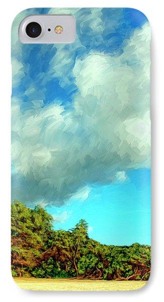 Makena Beach Maui Phone Case by Dominic Piperata