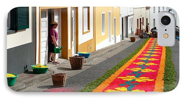 Making Flower Carpets Phone Case by Gaspar Avila
