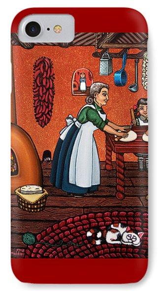 Making Tortillas IPhone Case by Victoria De Almeida