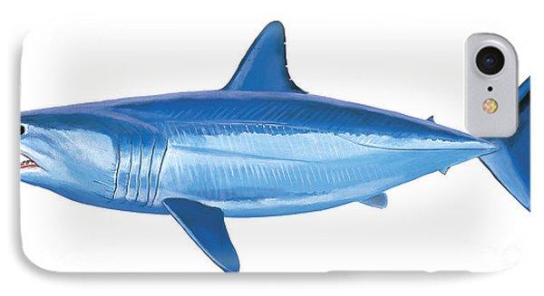 Mako Shark IPhone 7 Case by Carey Chen