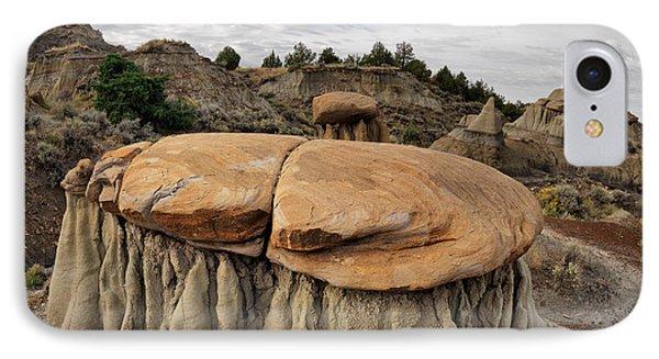 Makoshika State Park 1 IPhone Case by Leland D Howard