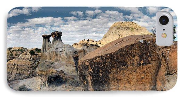 Makoshika State Park 6 IPhone Case by Leland D Howard