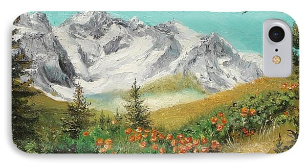 IPhone Case featuring the painting Malaiesti by Sorin Apostolescu