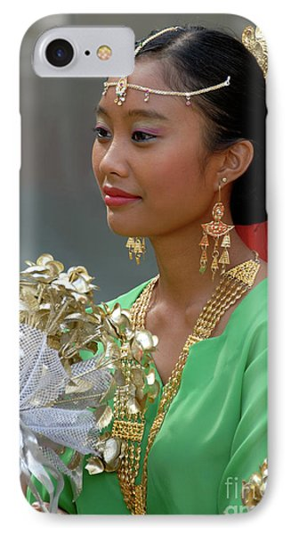 Malaysian Dancer IPhone Case by Rick Piper Photography