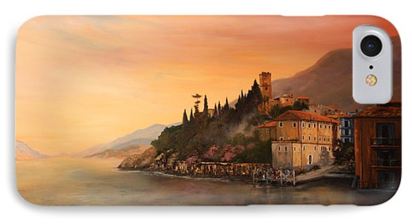 Malcesine Lake Garda Italy IPhone Case by Jean Walker