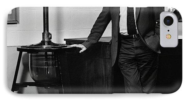 Malcolm Longair IPhone Case by Lucinda Douglas-menzies