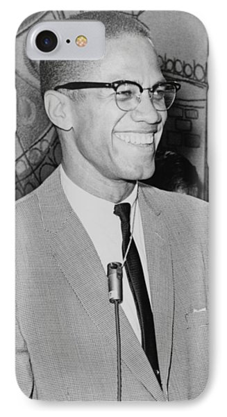 Malcolm X IPhone Case by Ed Ford