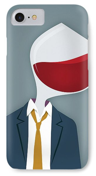 Male Alcoholic IPhone Case