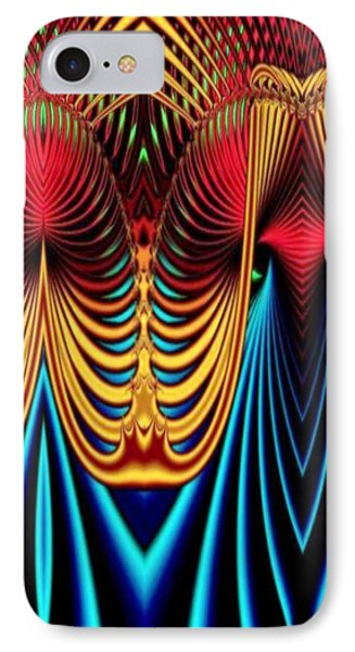 IPhone Case featuring the mixed media Male And Female by Rafael Salazar