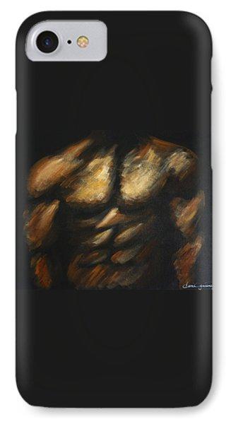 Male Bodybuilder IPhone Case by Dani Abbott