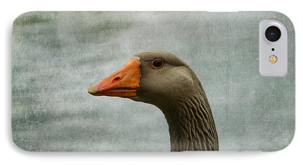 Male Graylag Goose Profile IPhone Case