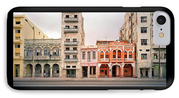 Malecon In Havana IPhone Case by Shaun Higson