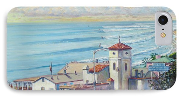 Malibu Pier IPhone Case by Michael Knowlton