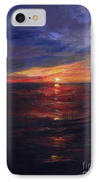 Malibu Sunset IPhone Case by Anees Peterman