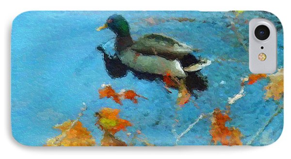 Mallard IPhone Case by David Klaboe