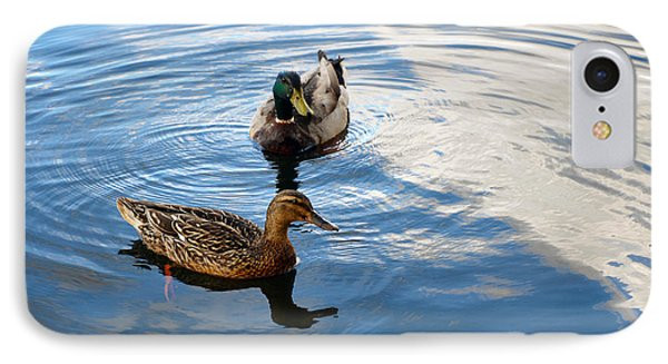 Mallards Lake Hopatcong Nj IPhone Case by Maureen E Ritter
