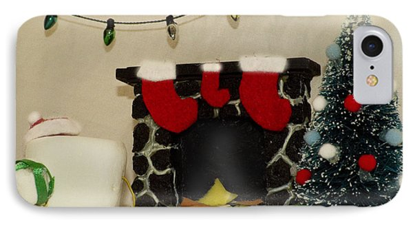 Mallow Christmas Phone Case by Heather Applegate