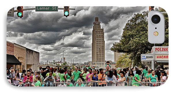 IPhone Case featuring the photograph Mal's St. Paddy's Parade by Jim Albritton