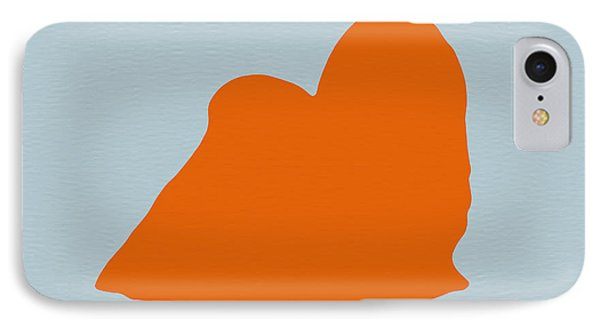 Maltese Orange IPhone Case by Naxart Studio