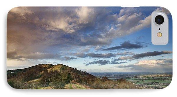 Malvern Hills IPhone Case by Rod McLean