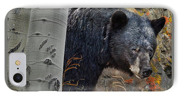 Mama Bear IPhone Case by Ed Hall