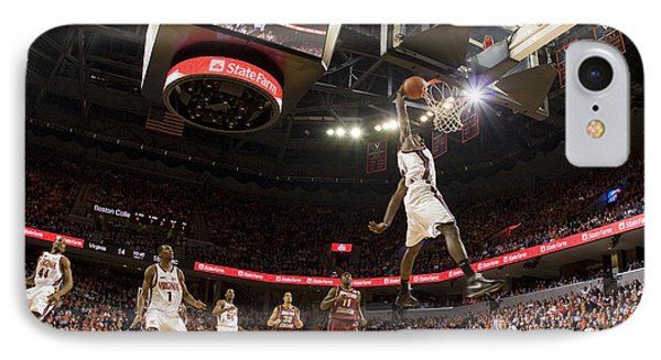 Mamadi Diane Dunk Against Boston College Phone Case by Jason O Watson