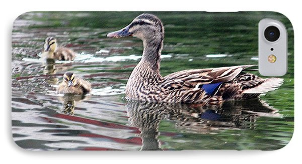 Mamas Watchful Eye IPhone Case by Suzanne Gaff