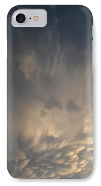 IPhone Case featuring the photograph Mammatus And Other Clouds 2  by Lyle Crump