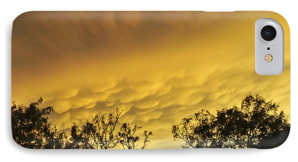 Mammatus Clouds At Sunset IPhone Case