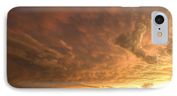 IPhone Case featuring the photograph Mammatus Clouds by Rob Graham