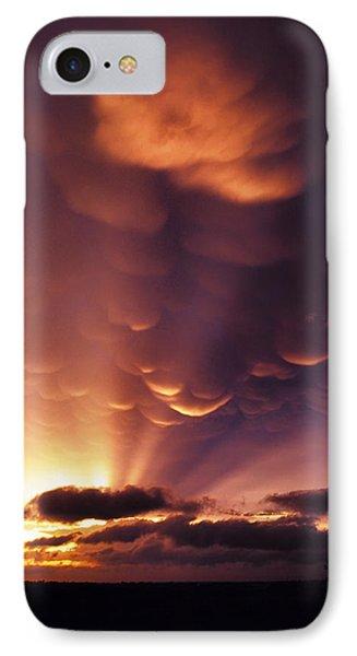 Mammatus Sunset Over Colorado Phone Case by Jason Politte
