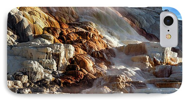 Mammoth Hot Springs IPhone Case by Babak Tafreshi