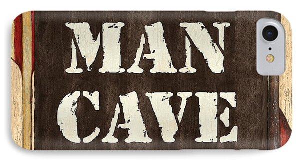 Man Cave Do Not Disturb Phone Case by Debbie DeWitt
