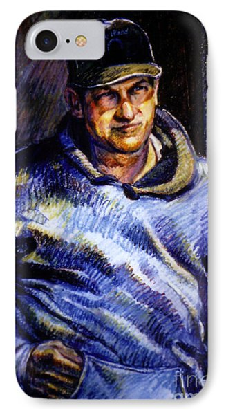 Man In Barn IPhone Case by Stan Esson