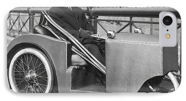 Man In Motorized Wheelchair IPhone Case