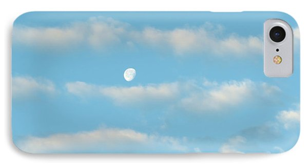 Man In The Moon In The Clouds Phone Case by Fortunate Findings Shirley Dickerson