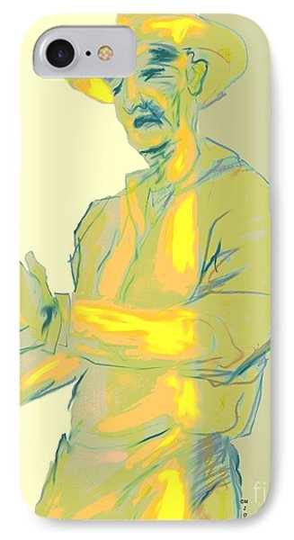 Man In Yellow One IPhone Case