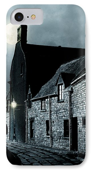 IPhone Case featuring the photograph Man Standing In Old Street by Ethiriel  Photography