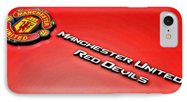 Man United Red Devils Poster IPhone Case