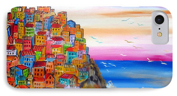 Manarola 5 Terre IPhone Case