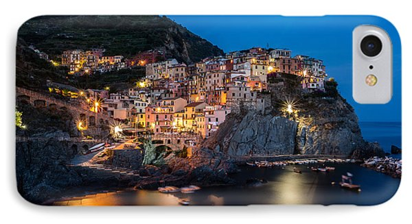 IPhone Case featuring the photograph Manarola by Mihai Andritoiu