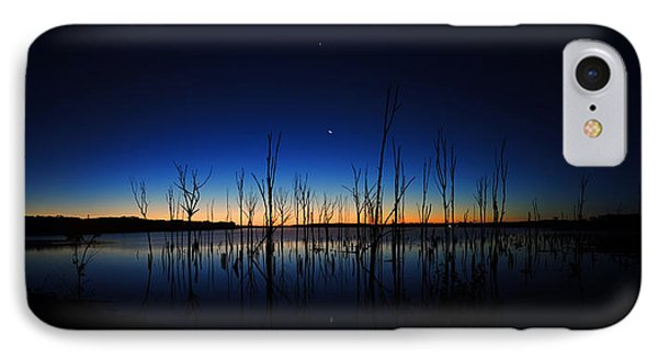IPhone Case featuring the photograph Manasquan Reservoir At Dawn by Raymond Salani III