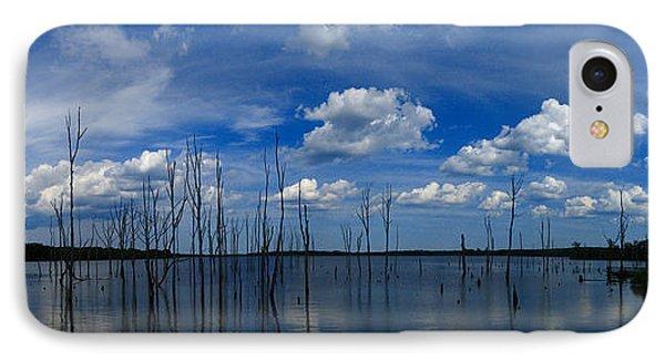 Manasquan Reservoir Panorama Phone Case by Raymond Salani III