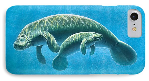 Manatee IPhone Case by JQ Licensing
