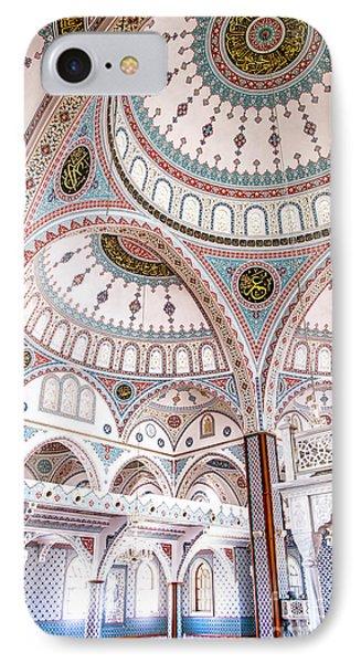 Manavgat Mosque Interior 02 Phone Case by Antony McAulay