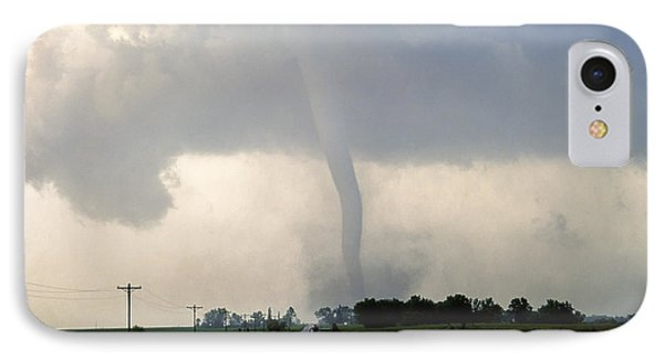 Manchester Tornado 1 Of 6 IPhone Case by Jason Politte