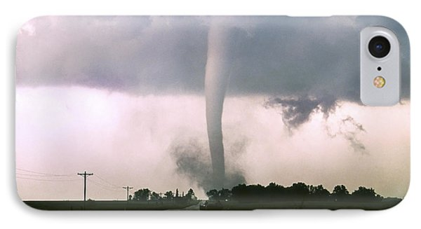 Manchester Tornado 4 Of 6 IPhone Case by Jason Politte