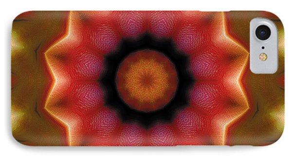 Mandala 103 Phone Case by Terry Reynoldson