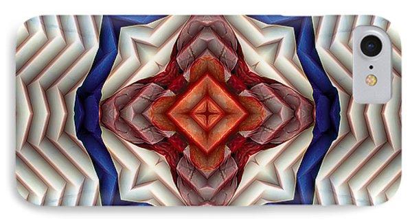 IPhone Case featuring the digital art Mandala 11 by Terry Reynoldson